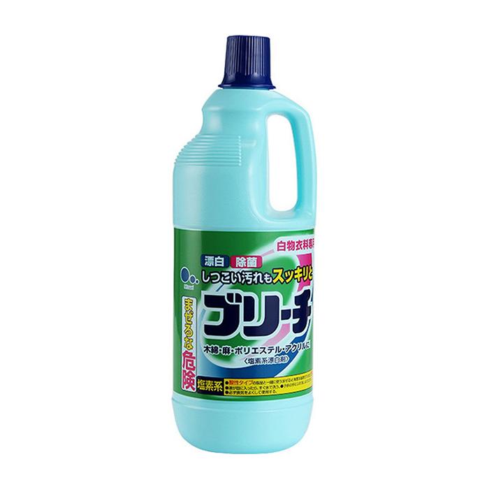 Купить Отбеливатель для белья Mitsuei (1, 5 л), Хлорный отбеливатель для возвращения тканям сверкающей белизны, Япония