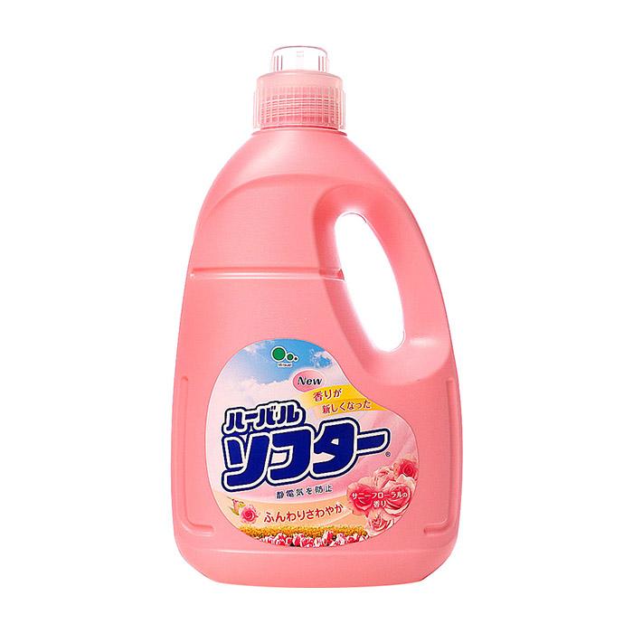 Купить Кондиционер для белья Mitsuei Herbal (2 л), Кондиционер для мягкости и сохранения тканей с ароматом белых цветов, Япония
