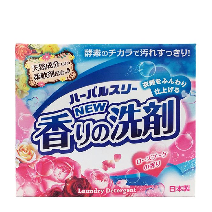 Купить Стиральный порошок Mitsuei Herbal Three New Fragrance (0, 85 кг), Стиральный порошок с кондиционером для сохранения яркости цвета и мягкости белья, Япония