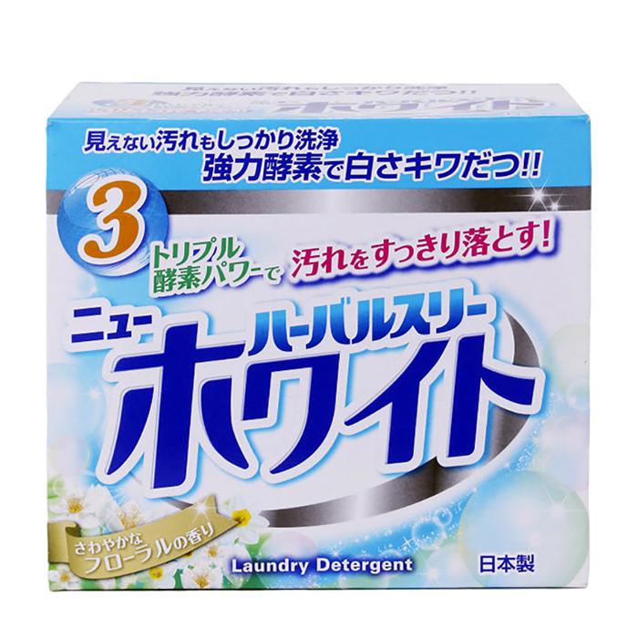 Купить Стиральный порошок Mitsuei Herbal Three (0, 85 кг), Отбеливающий стиральный порошок с дезодорирующими компонентами и ферментами, Япония