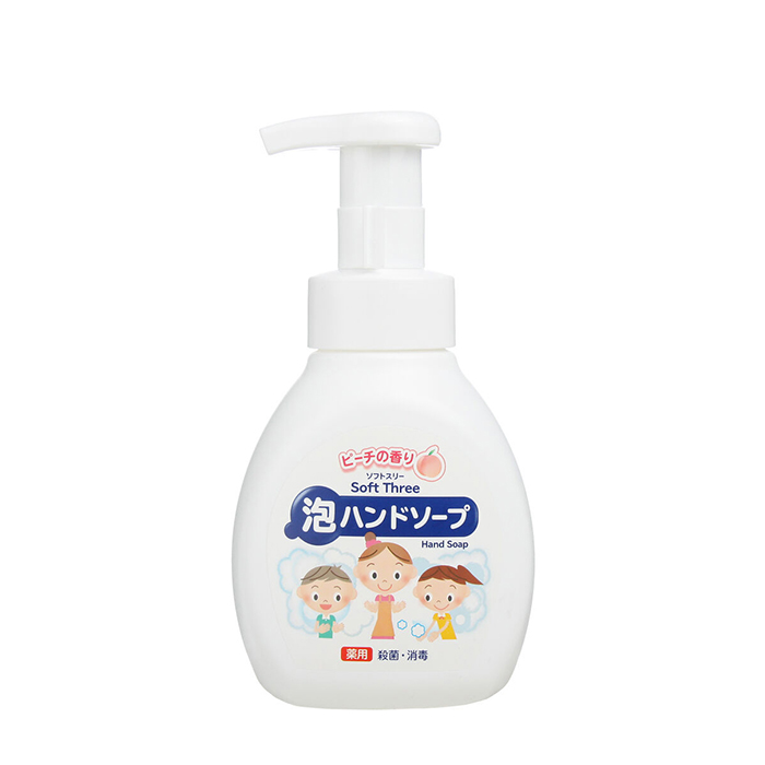 Мыло для рук Mitsuei Soft Three Hand Soap Peach