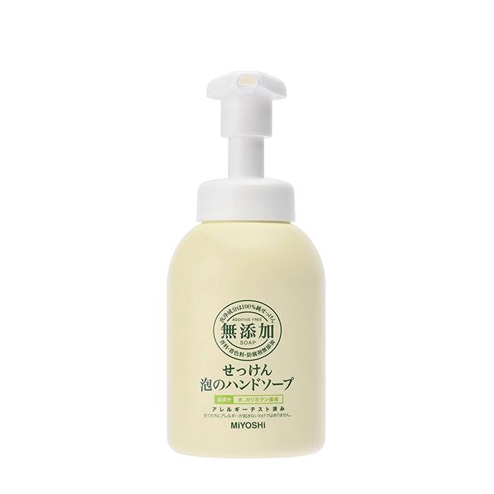 Жидкое мыло для рук Miyoshi Additive Free Bubble Hand Soap