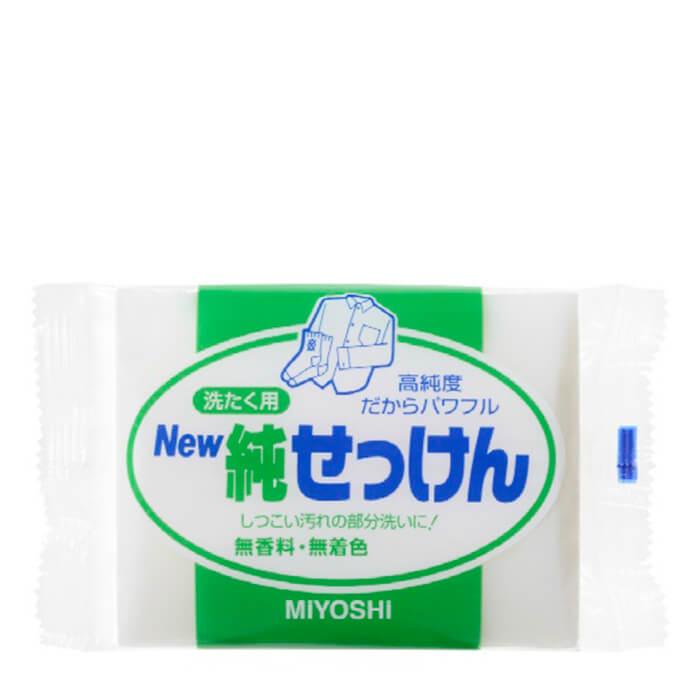 Мыло для стирки Miyoshi Laundry Soap Bar Мыло для точечного застирывания стойких загрязнений фото