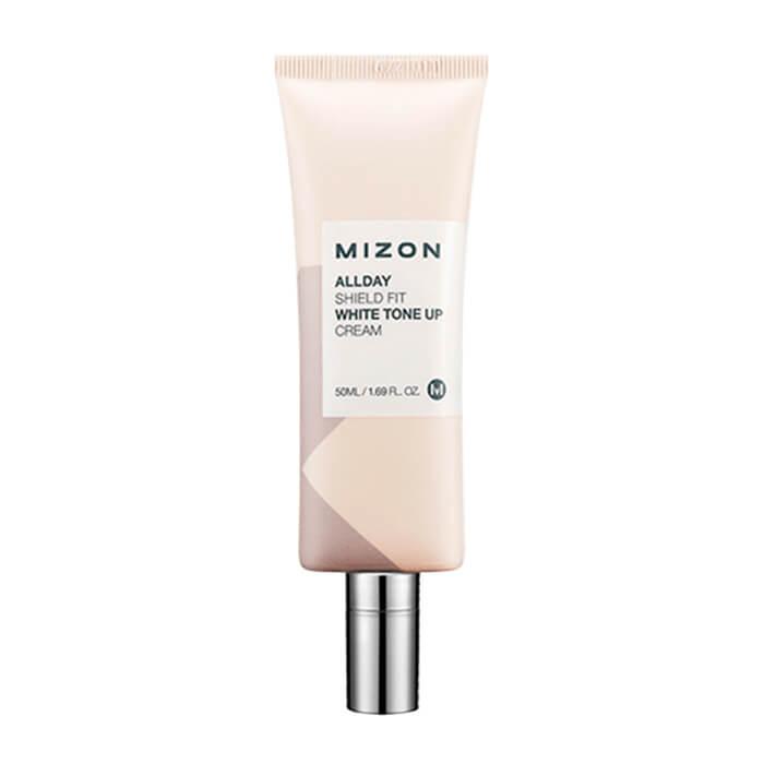 Купить Крем для лица Mizon All Day Shield Fit White Tone Up Cream, Дневной защитный крем для лица с осветляющим эффектом, Южная Корея