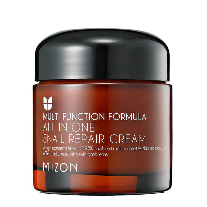 Купить Крем для лица Mizon All in One Snail Repair Cream, Крем для лица с 92% экстрактом улитки для проблемной кожи, Южная Корея