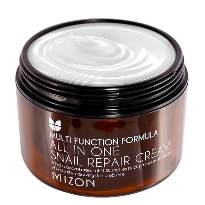 Купить Крем для лица Mizon All in One Snail Repair Cream (Super Size), Крем для лица с 92% экстрактом улитки для проблемной кожи, Южная Корея