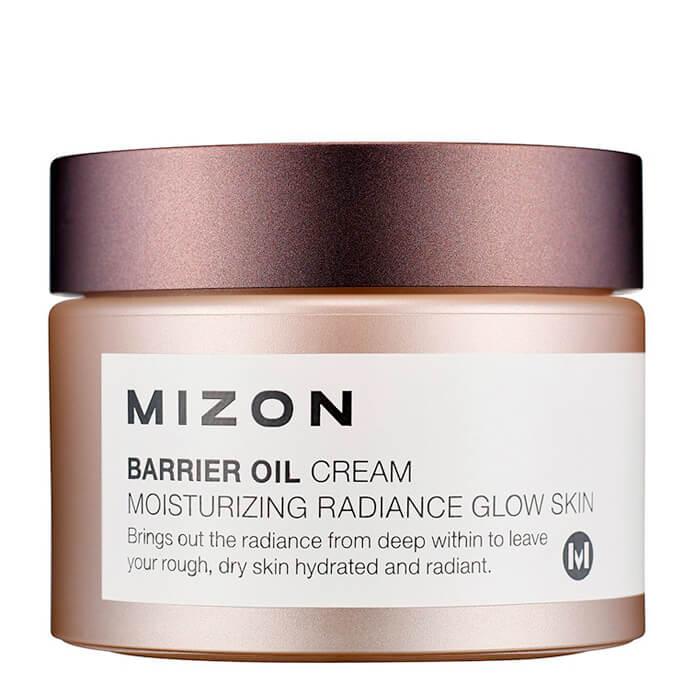 Купить Крем для лица Mizon Barrier Oil Cream, Увлажняющий крем для лица на основе масла оливы, Южная Корея