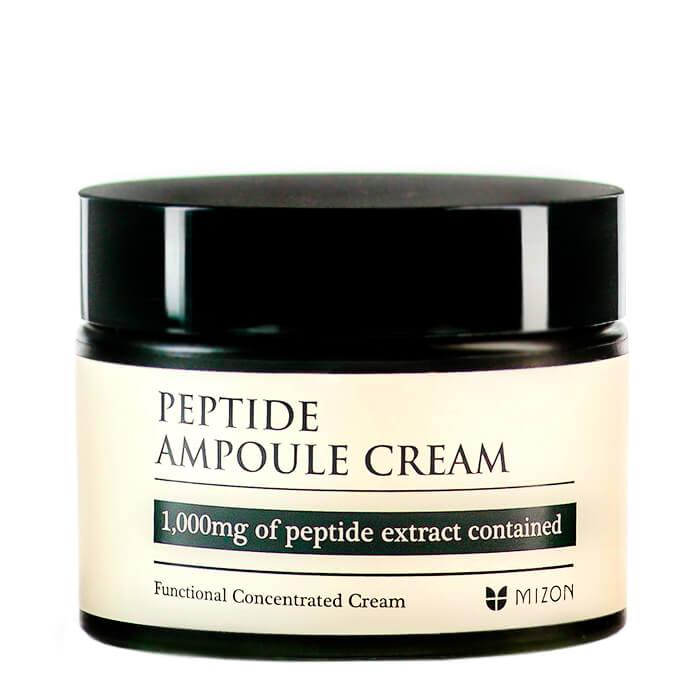 Купить Крем для лица Mizon Peptide Ampoule Cream, Концентрированный пептидный крем для возрастной кожи лица, Южная Корея