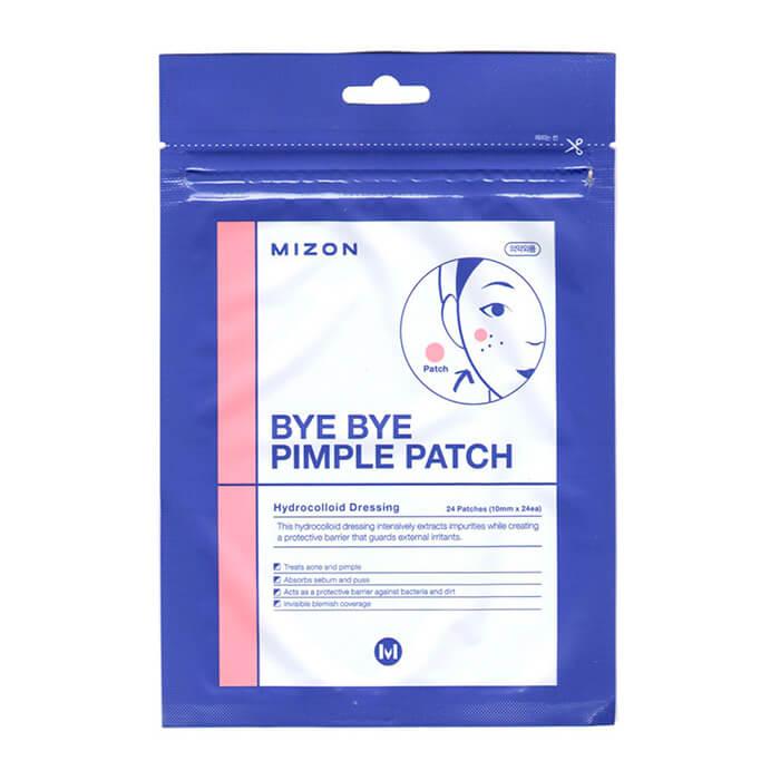 Купить Локальные патчи Mizon Bye Bye Pimple Patch, Противовоспалительные локальные патчи для лица, Южная Корея