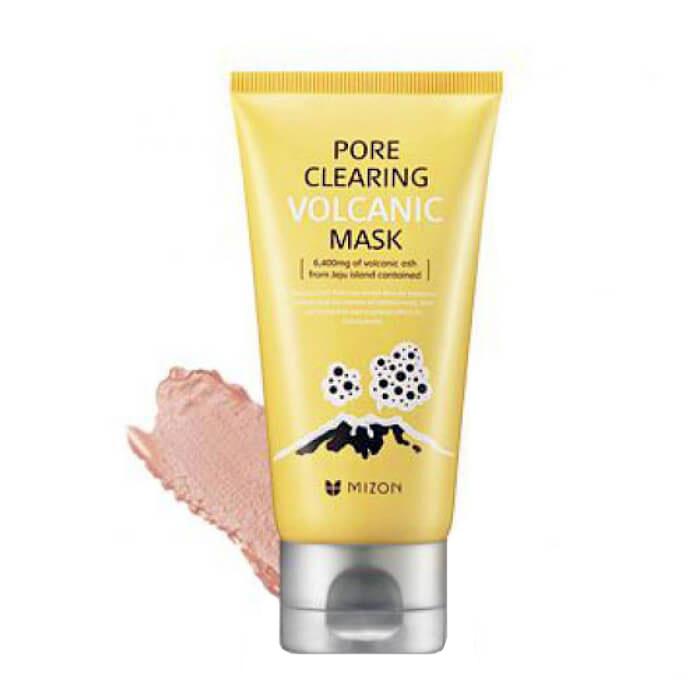 Купить Маска для лица Mizon Pore Clearing Volcanic Mask, Эффективная маска для очищения пор с вулканическим пеплом, Южная Корея