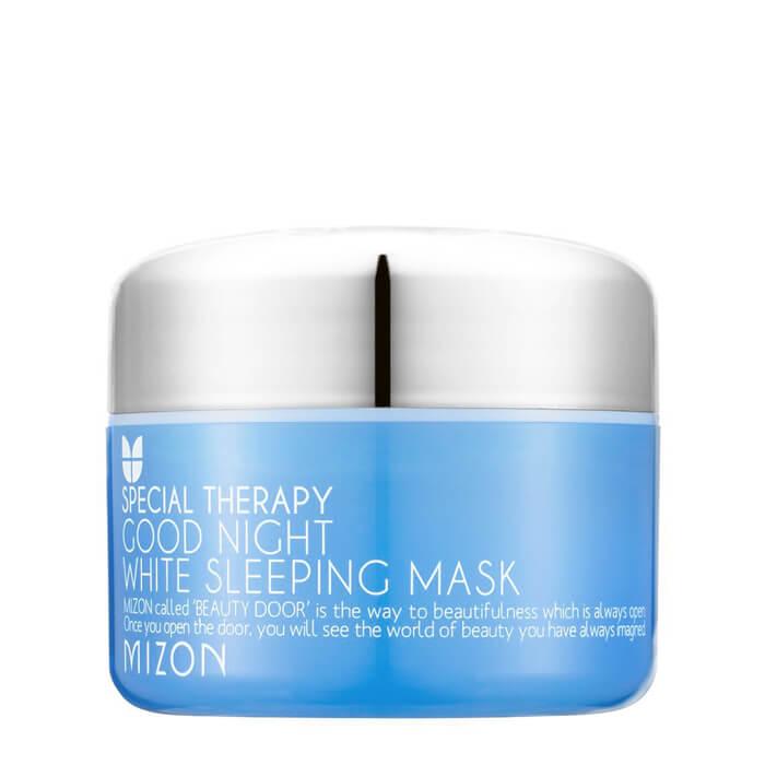 Купить Маска для лица Mizon Special Therapy Good Night White Sleeping Mask, Ночная осветляющая маска с ароматом лаванды, Южная Корея