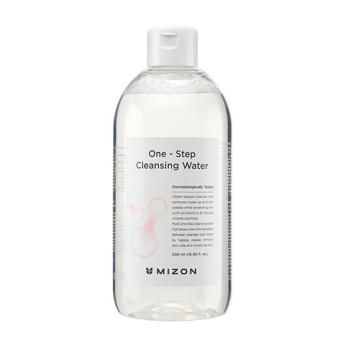 Купить Очищающая вода Mizon One Step Cleansing Water, Мицеллярная вода с растительными экстрактами для снятия макияжа и увлажнения кожи лица, Южная Корея