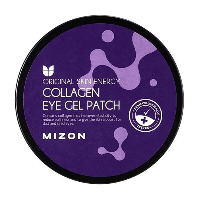 Купить Патчи для век Mizon Collagen Eye Gel Patch, Гидрогелевые патчи для век с концентрированным содержанием коллагена, Южная Корея