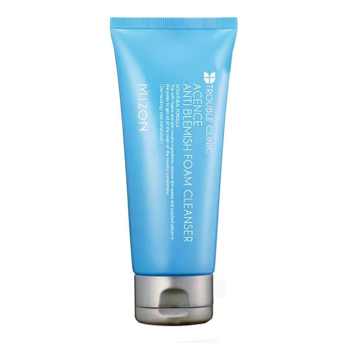 Купить Пенка для умывания Mizon Acence Anti Blemish Foam Cleanser, Очищающая пенка для умывания лица с формулой анти-акне, Южная Корея