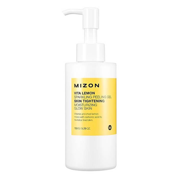 Купить Пилинг для лица Mizon Vita Lemon Sparkling Peeling Gel, Пилинг-гель для отшелушивания кожи лица с экстрактом лимона, Южная Корея