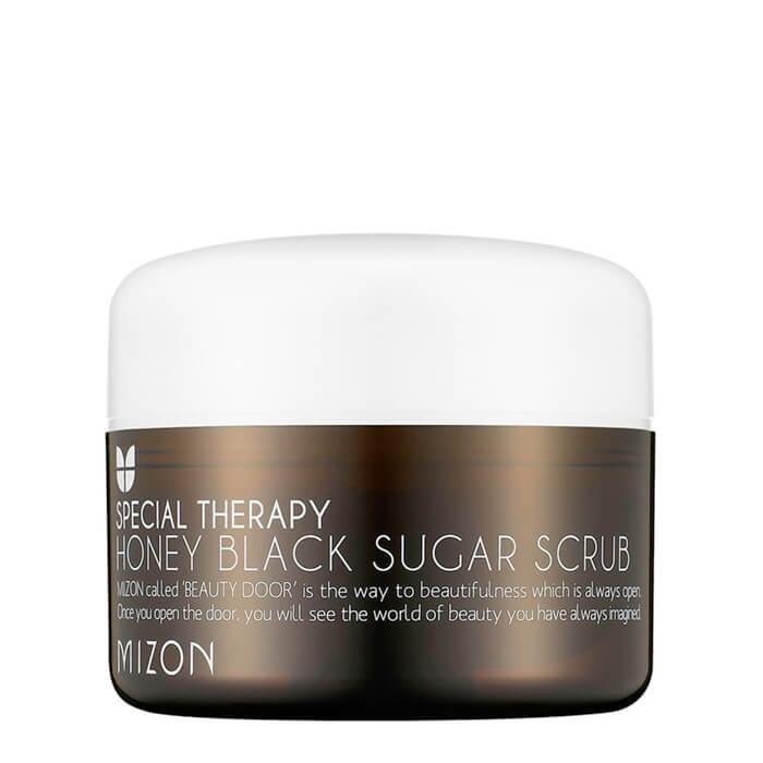 Купить Скраб для лица Mizon Honey Black Sugar Scrub, Медовый скраб с натуральным черным сахаром, Южная Корея