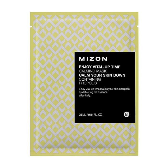 Купить Тканевая маска Mizon Enjoy Vital-Up Time Calming Mask, Успокаивающая тканевая маска для кожи лица, Южная Корея