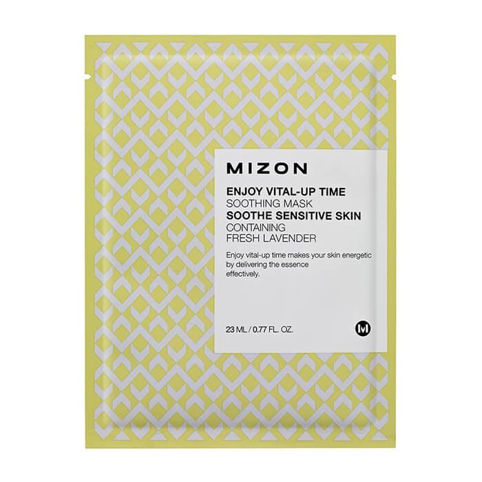 Купить Тканевая маска Mizon Enjoy Vital-Up Time Soothing Mask, Расслабляющая тканевая маска для кожи лица, Южная Корея