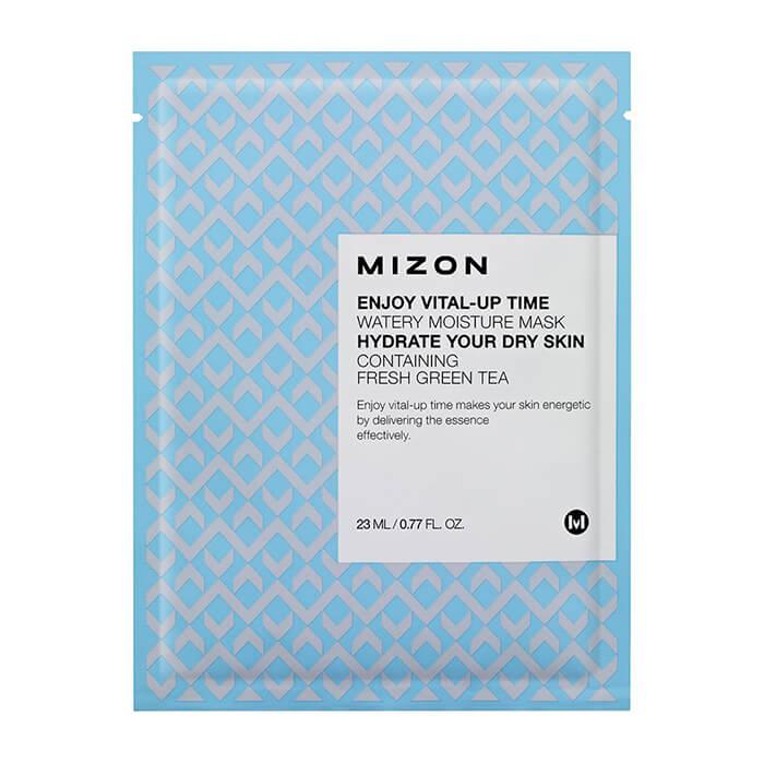 Купить Тканевая маска Mizon Enjoy Vital-Up Time Watery Moisture Mask, Увлажняющая тканевая маска для кожи лица, Южная Корея