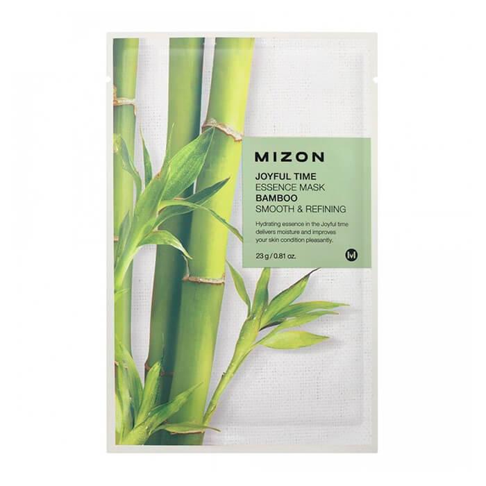 Купить Тканевая маска Mizon Joyful Time Essence Mask - Bamboo, Тканевая маска для лица с экстрактом стебля бамбука, Южная Корея