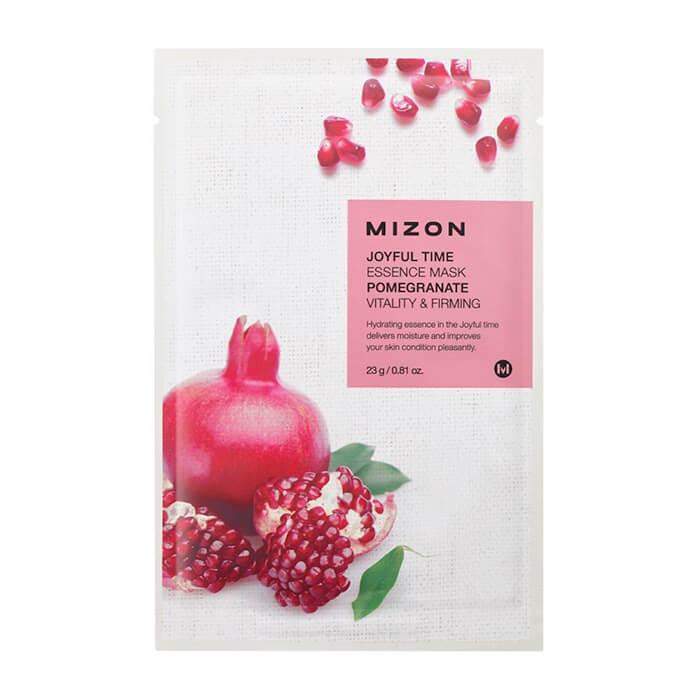 Тканевая маска Mizon Joyful Time Essence Mask - Pomegranate Тканевая маска для лица с экстрактом гранатового сока фото