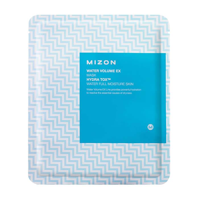 Купить Тканевая маска Mizon Water Volume EX Mask, Глубоко увлажняющая тканевая маска для кожи лица с ледниковой водой, Южная Корея