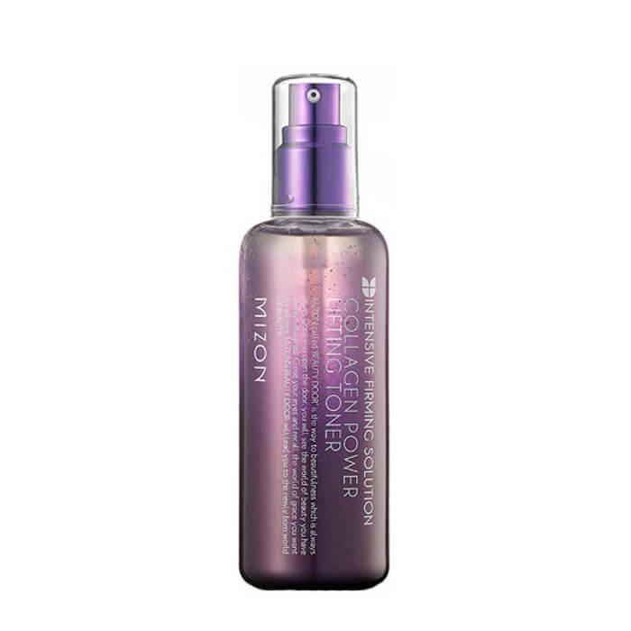 Купить Тонер для лица Mizon Collagen Power Lifting Toner, Лифтинг-тонер с коллагеном для увлажнения и омоложения кожи лица, Южная Корея