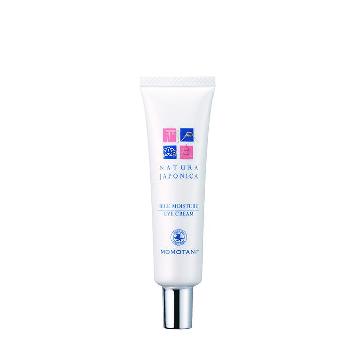 Купить Крем для век Momotani NJ Rice Moisture Eye Cream, Увлажняющий крем для кожи вокруг глаз с экстрактом ферментированного риса, Япония
