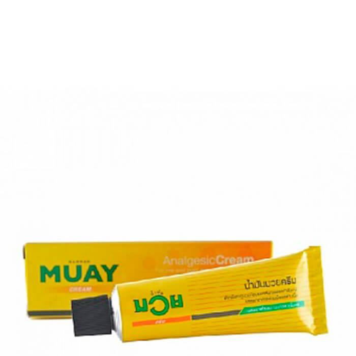 Купить Мазь для тела Namman Muay Cream (30 г), Эффективная обезболивающая мазь для спорта на основе метилсалицилата, Таиланд