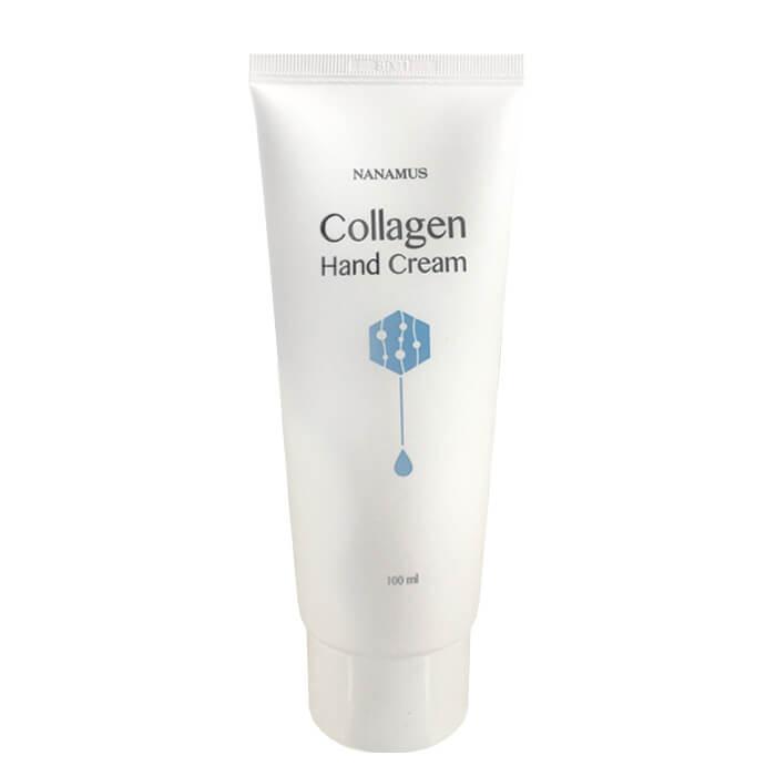 Купить Крем для рук Nanamus Collagen Hand Cream, Крем для рук с гидролизованным коллагеном и керамидами, Южная Корея