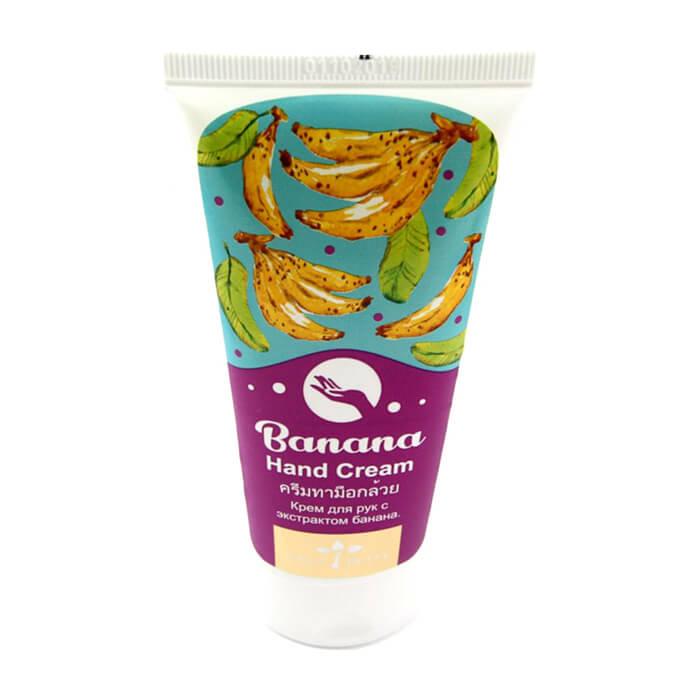 Купить Крем для рук Nina Buda Banana Hand Cream, Питательный крем для рук с экстрактом банана, Таиланд