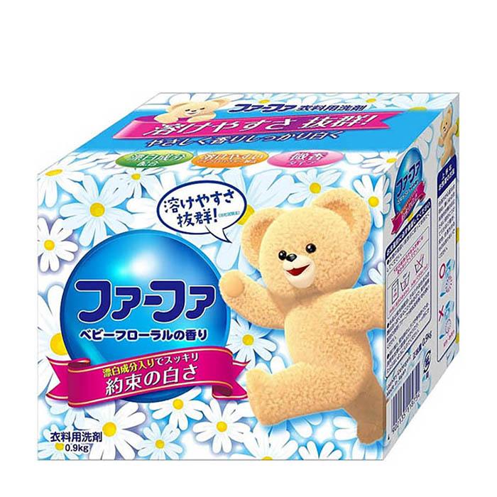 Купить Стиральный порошок Nissan FaFa Laundry Detergent (0, 9 кг), Концентрированный стиральный порошок с ферментами и ароматом цитрусов и мяты, Япония