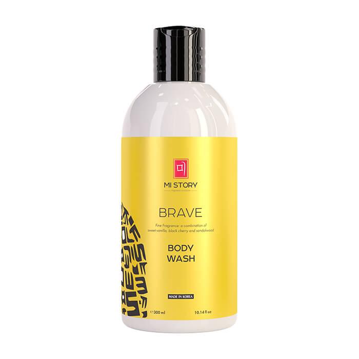 Купить Гель для душа Nollam Lab Body Wash Brave, Мягкий гель для душа с ароматом ванили и дикой вишни, Южная Корея