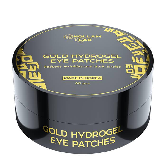 Купить Патчи для глаз Nollam Lab Gold Hydrogel Eye Patches, Премиальные золотые гидрогелевые патчи для области вокруг глаз, Южная Корея