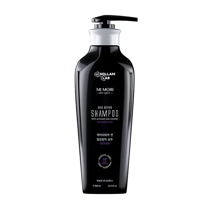 Купить Шампунь для волос Nollam Lab Hair Repair Shampoo For Normal Hair, Бессульфатный шампунь для нормальной кожи головы с комплексом от выпадения волос, Южная Корея