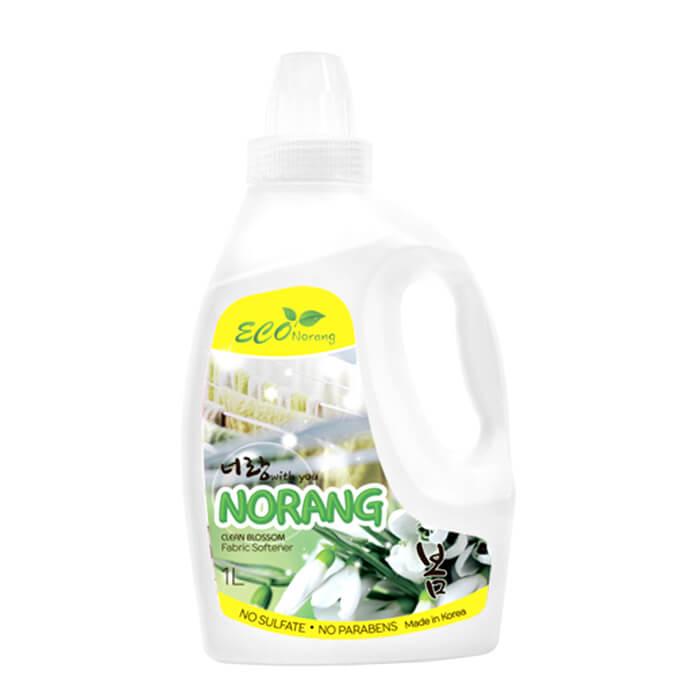 Купить Кондиционер для белья Norang Fabric Softener – Clean Blossom, Кондиционер с ароматом свежести для смягчения белья, Южная Корея
