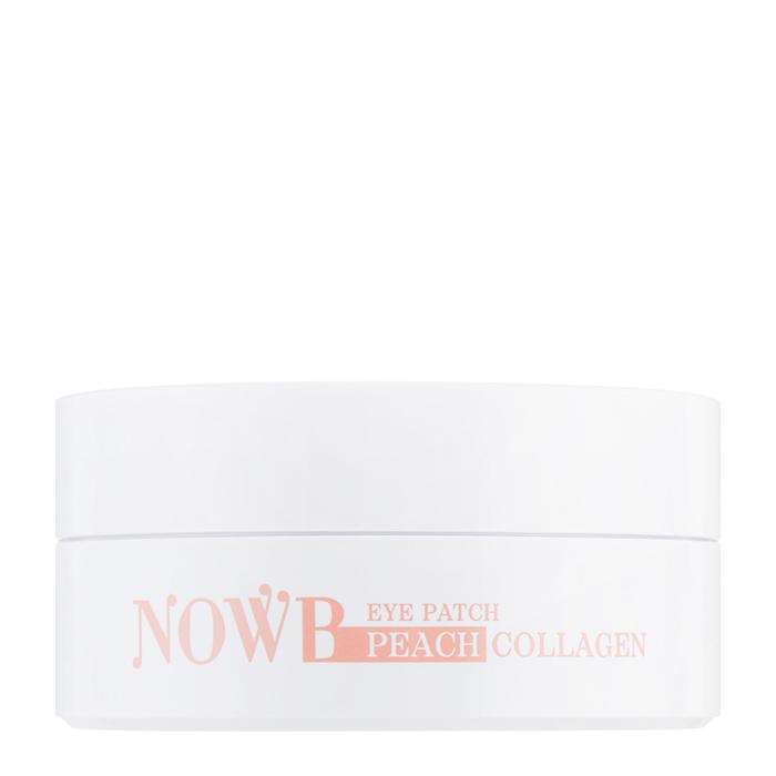 Купить Патчи для век NOWB Eye Patch Peach Collagen, Интенсивно разглаживающие гидрогелевые патчи для век с персиком и коллагеном, Южная Корея