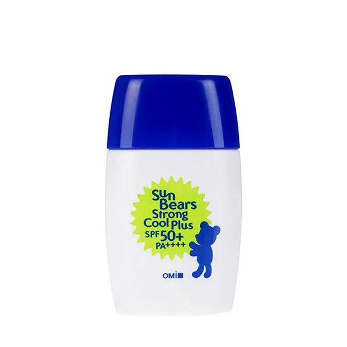 Купить Солнцезащитное молочко для лица и тела OMI Brother Sun Bears Strong Cool Plus, Водостойкое увлажняющее солнцезащитное молочко для чувствительной кожи лица и тела, Япония
