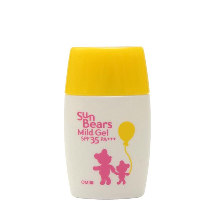 Купить Солнцезащитный гель для лица и тела OMI Brother Sun Bears Mild Gel, Япония