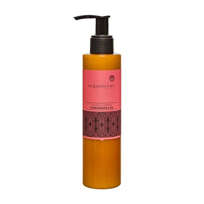 Купить Кондиционер для волос Organic Tai Repairing Conditioner Pomegranate & Fig, Восстанавливающий кондиционер для волос с гранатом и инжиром, Таиланд