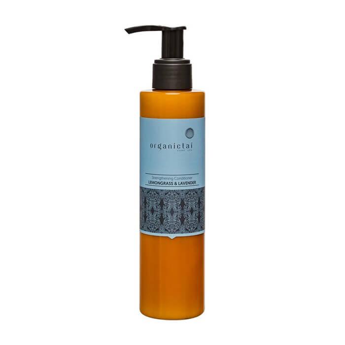 Купить Кондиционер для волос Organic Tai Strengthening Conditioner Lemongrass & Lavender, Укрепляющий кондиционер для волос с лемонграссом и лавандой, Таиланд