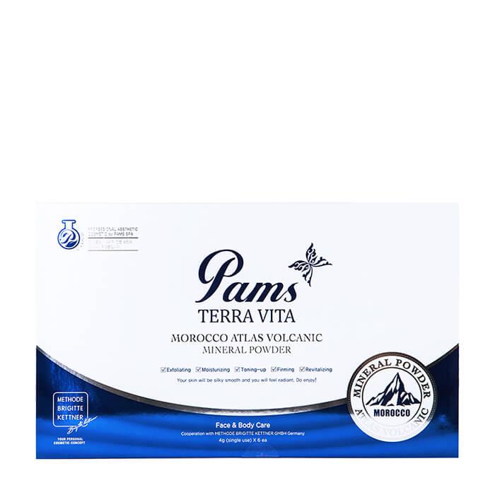 Купить Набор глиняных масок Pams Terra Vita Morocco Atlas Volcanic Mineral Powder, Набор масок с марокканским вулканическим порошком для лица, Южная Корея