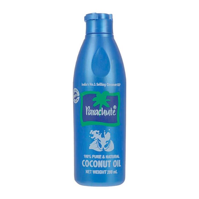 Купить Кокосовое масло Parachute Coconut Oil - 200 мл, 100% натуральное нерафинированное кокосовое масло, Индия