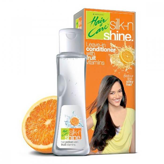 Купить Кондиционер для волос Parachute Silk-n-Shine Hair Conditioner, Кондиционер для смягчения волос на основе фруктовых витаминов, Индия