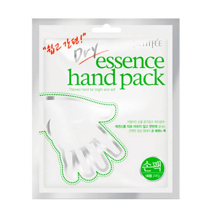 Купить Маска для рук Petitfee Dry Essence Hand Pack, Увлажняющая маска для рук в виде перчаток, Южная Корея