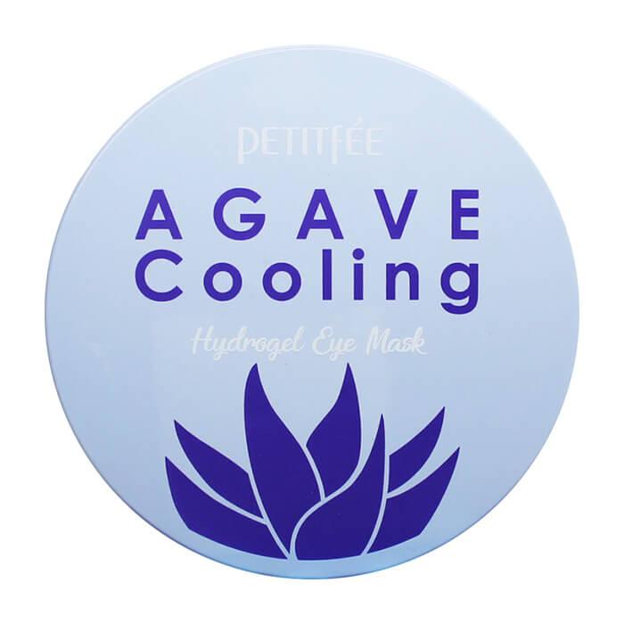 Купить Патчи для глаз Petitfee Agave Cooling Hydrogel Eye Patch, Охлаждающие гидрогелевые патчи для век с экстрактом агавы, Южная Корея