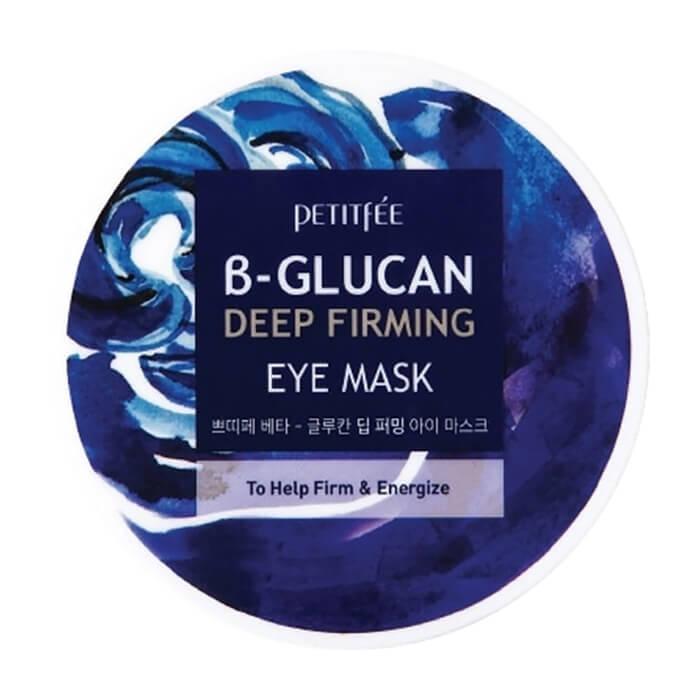 Купить Патчи для глаз Petitfee B-Glucan Deep Firming Eye Mask, Тканевые патчи для укрепления кожи вокруг глаз с бета-глюканом, Южная Корея
