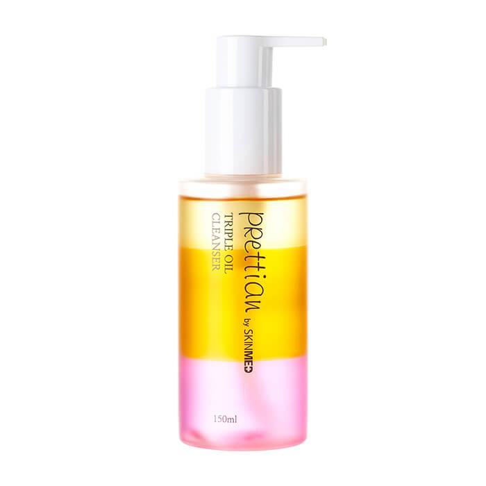 Купить Гидрофильное масло Prettian Triple Oil Cleanser Vita Fresh, Нежное гидрофильное очищающее средство с натуральными маслами для любого типа кожи, Южная Корея