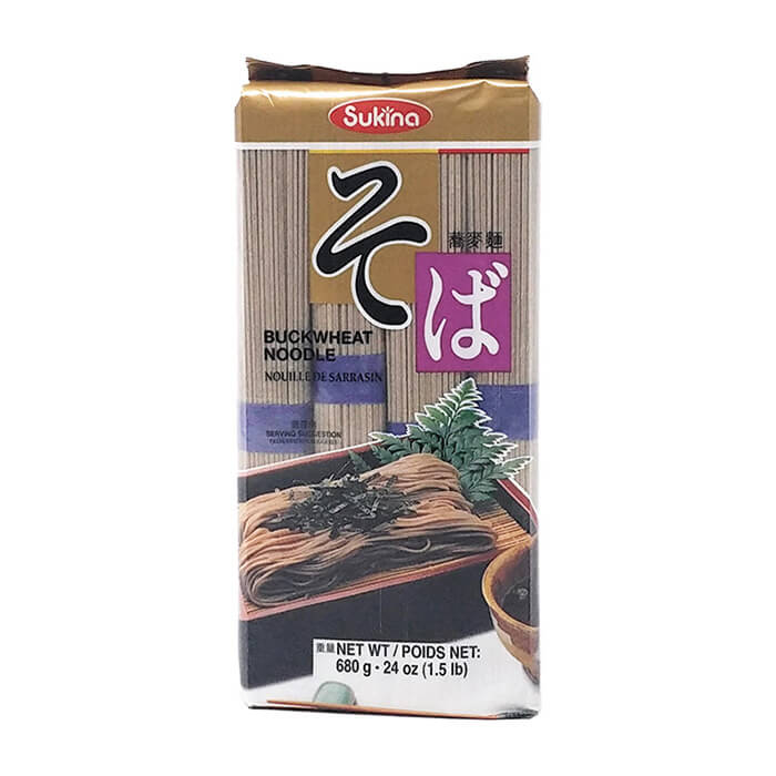 Гречневая лапша Samjin Sukina Buckwheat Noodle Традиционная корейская гречневая лапша быстрой варки фото