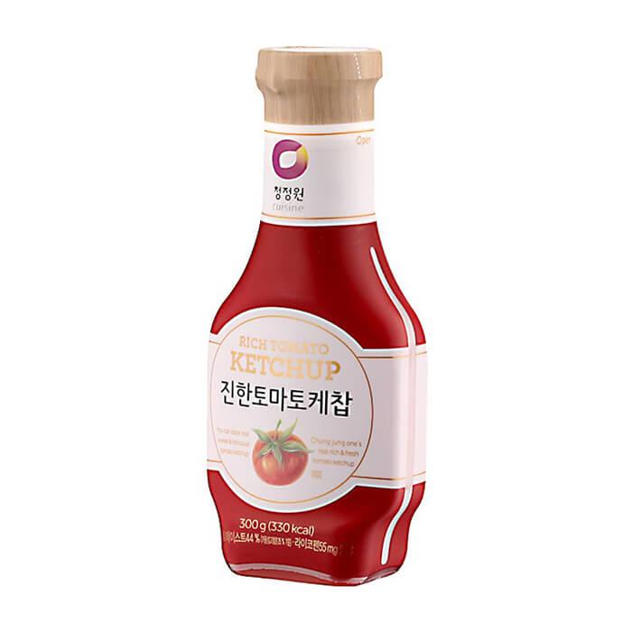 Кетчуп томатный Daesang Rich Tomato Ketchup Натуральный томатный кетчуп для заправки горячих блюд фото